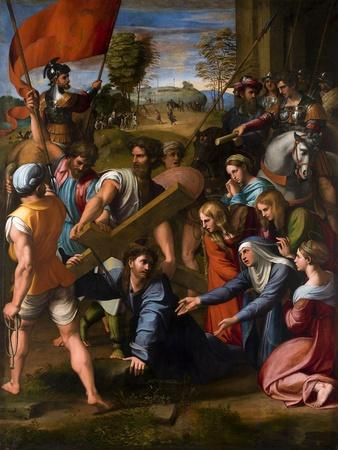 Christ Falls on the Way to Calvary, 1515-1516