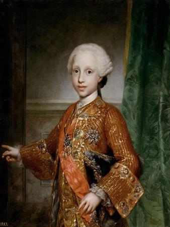 Infante Francisco Javier of Spain, 1767