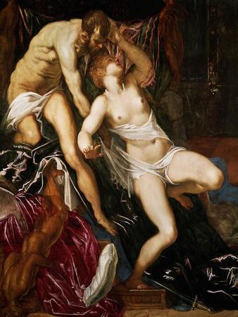 Tarquinus and Lucretia, 1559