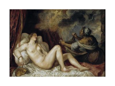 Danae Receiving the Golden Rain, 1553