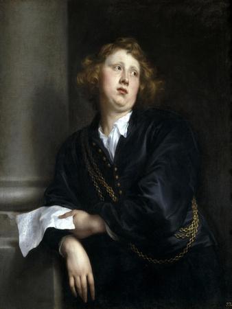 Portrait of the Musician Henricus Liberti, 1627-1632