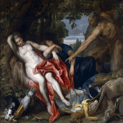 Diana and Endymion Surprised by a Satyr, 1622-1627