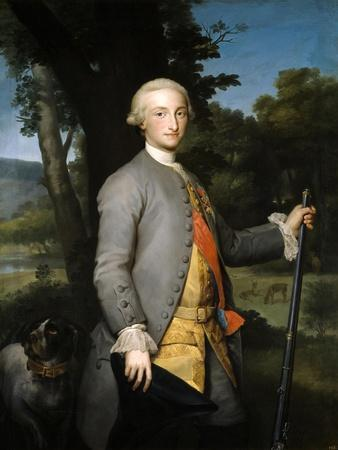 Carlos IV, Prince of Asturias, Ca. 1765