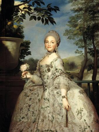 María Luisa of Parma, Princess of Asturias, Ca. 1765