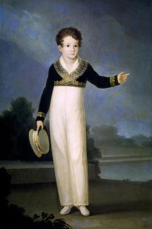 Portrait of Don Mariano San Juan Y Pinedo, Count Consort of La Cimera, 1810-1813