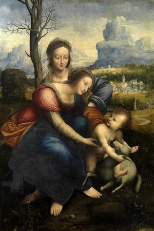 The Virgin and Child with Saint Anne