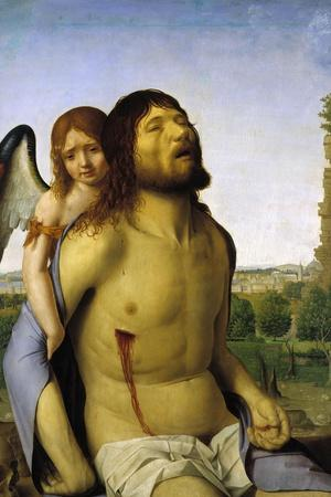 The Dead Christ Supported by an Angel