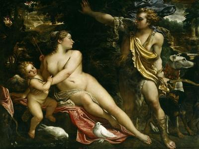 Venus, Adonis and Cupid, Ca. 1590