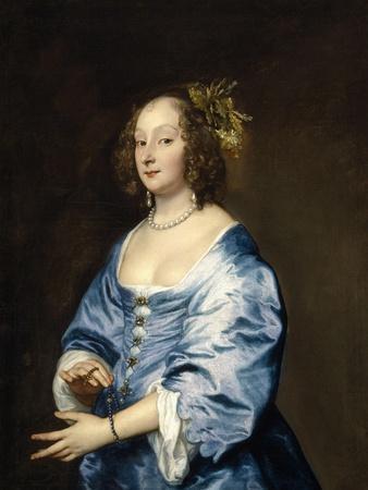 Mary Ruthven, Lady Van Dyck, Ca. 1639