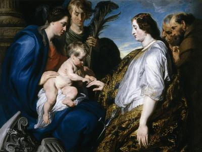 The Mystic Betrothal of Saint Catherine, 1618-1620