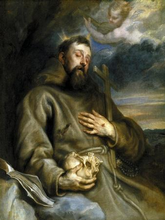 Saint Francis of Assisi in Ecstasy, 1627-1632