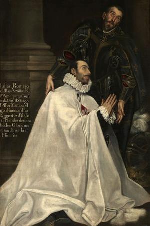 Julián Romero and His Patron Saint, 1612-1618