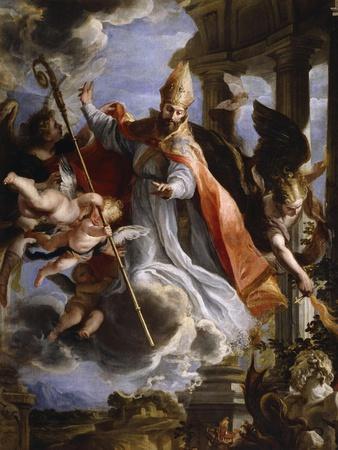 The Triumph of Saint Augustine, 1664