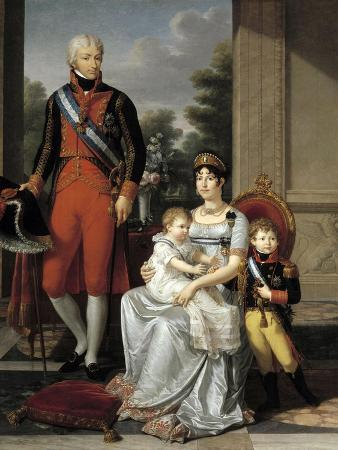 Family of the King of Etruria, 1804