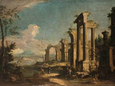 Landscape with Classical Ruins, C. 1750