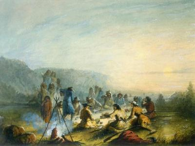 American Indians at Sunrise Breakfast