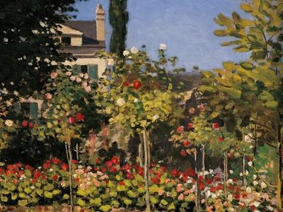 Flowering Garden in Sainte-Adresse