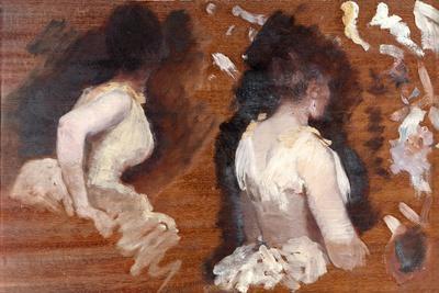Painting Study for 'La Danse De Monde'