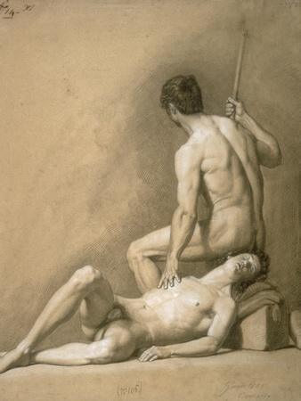 Drawing of Nude Male Models
