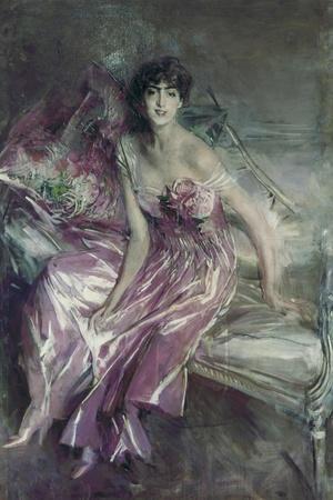 Woman in Rose, Olivia De Subercaseaux Concha