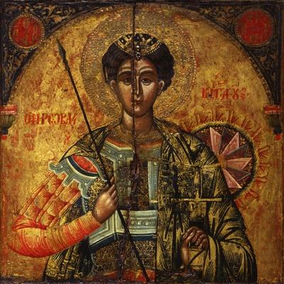 Holy Warrior Demetrio, with Armor, Sword and Spear