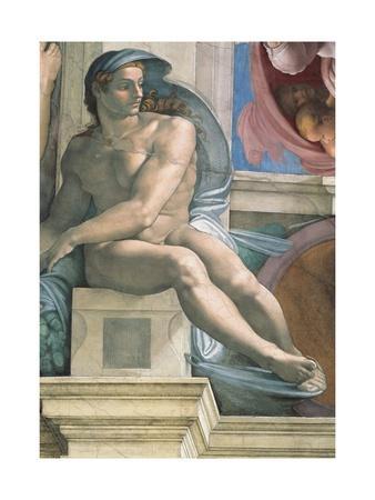 Sistine Chapel Ceiling, Male Nude