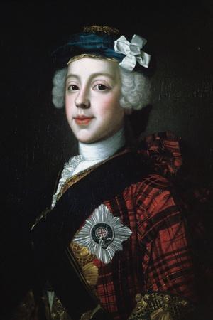 Prince Charles Edward Stuart (Bonnie Prince Charlie)