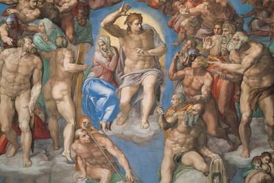 Sistine Chapel, Christ of the Last Judgment