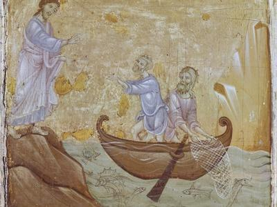 Jesus Calling Fishermen Peter and Andrew