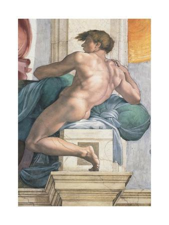 Sistine Chapel Ceiling, Male Nude