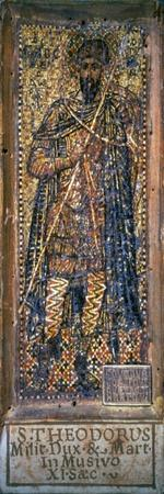 Saint Theodore as a Soldier, 1350