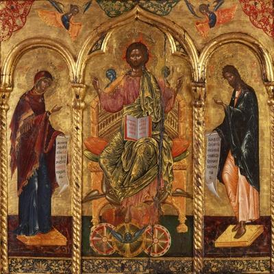 Christ Pantocrator, Virgin and St. John