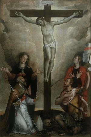 Crucifixion with Virgin and Sts. John, Apollinaris and Vitale