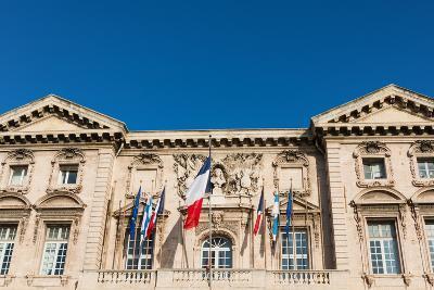 Marseille City Hall, Marseille, Bouches Du Rhone, Provence-Alpes-Cote-D'Azur, France, Europe
