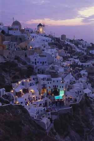 Village of Oia, Santorini, Cyclades, Greece