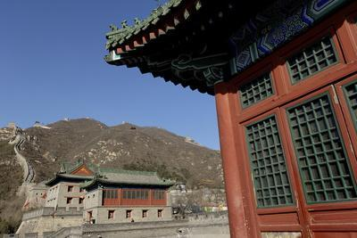 The Great Wall of China, UNESCO World Heritage Site, Juyongguan Pass, China, Asia