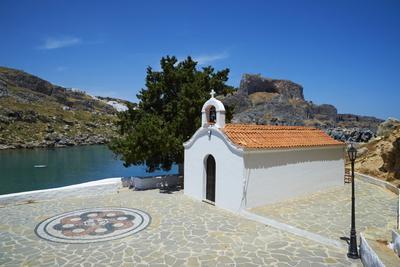 St. Paul Beach, Lindos, Rhodes, Dodecanese, Greek Islands, Greece, Europe
