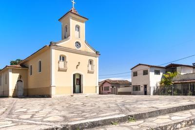 Bom Jesus Church, Diamantina, UNESCO World Heritage Site, Minas Gerais, Brazil, South America