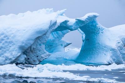 Iceberg in the Antarctic Waters, Enterprise Island, Antarctica, Polar Regions