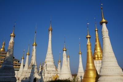 Monastery, Ywama Village, Inle Lake, Shan State, Myanmar (Burma), Asia