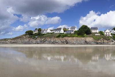 Beach of Pentrez Plage, Finistere, Brittany, France, Europe