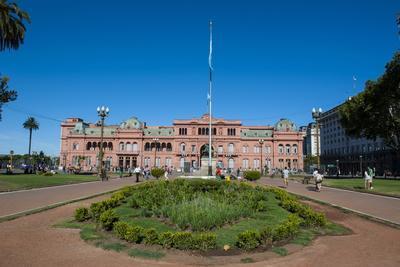 Casa Rosada (Pink House) (Casa De Gobierno) (Government House)