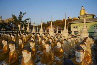 Bodhi Tataung, Monywa, Sagaing Division, Myanmar (Burma), Asia