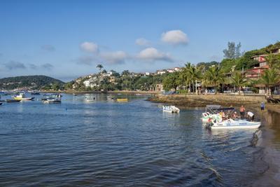 Praia Da Armacao, Orla Bardot, Buzios, Rio De Janeiro State, Brazil, South America