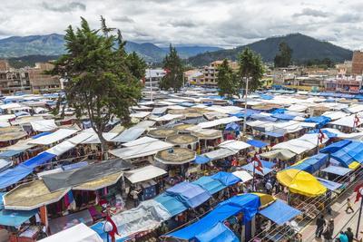Otavalo Market, Imbabura Province, Ecuador, South America