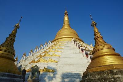 Mahazedi Paya, Bago (Pegu), Myanmar (Burma), Asia