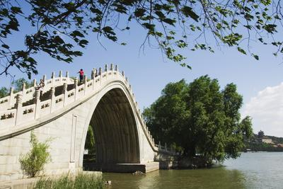 Jade Belt Bridge Built During Emperor Qialong's Reign in the 18th Century