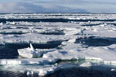 Pack Ice, Spitsbergen, Svalbard, Norway, Scandinavia, Europe