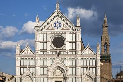 Santa Croce Church, Florence, UNESCO World Heritage Site, Tuscany, Italy, Europe