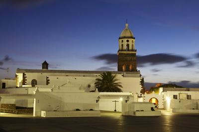 Iglesia Nuestra Church, Teguise, Lanzarote, Canary Islands, Spain, Europe